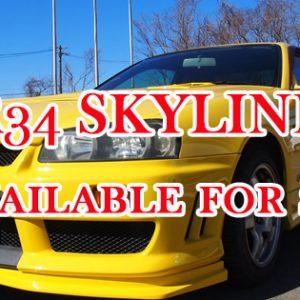 SKYLINE ER34