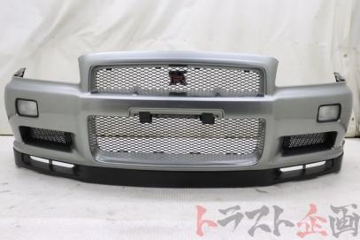 OEM FRONT BUMPER with LIP SPOILER