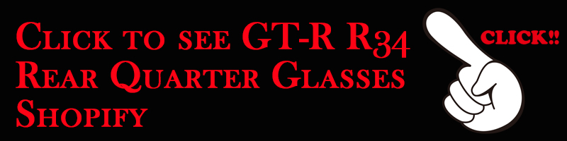 GT-R R34 Rear Quarter Glasses
