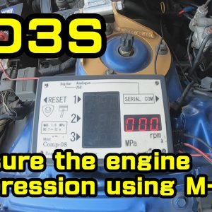 FD3S, comression test