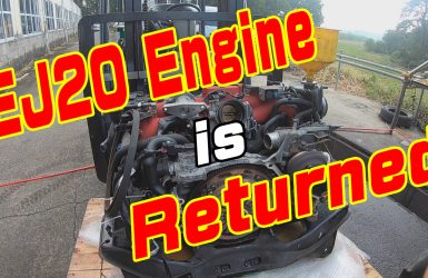 EJ20 returned engine